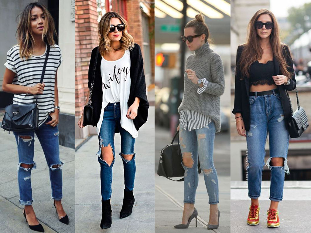 A volta do jeans destroyed | Inspire-se no look