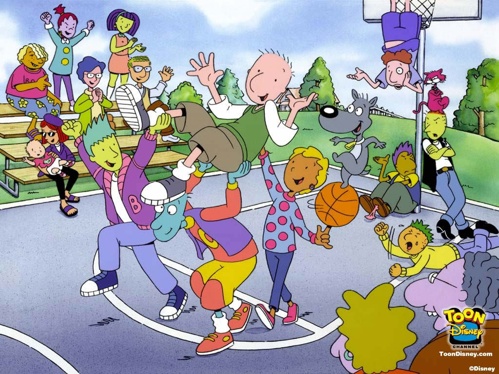 Doug Funnie fase Disney | 25 anos de Doug Funnie