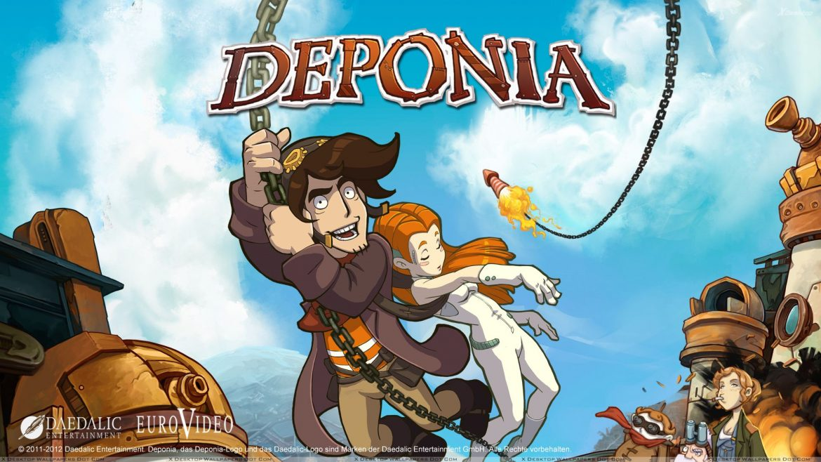 Jogue: Deponia | The Complete Journey