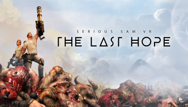 Serious Sam VR_ The Last Hope - Key Art
