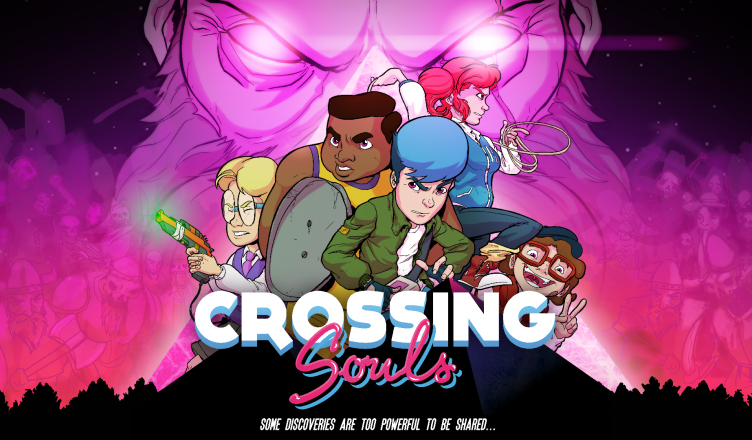 Crossing Souls - Key Art