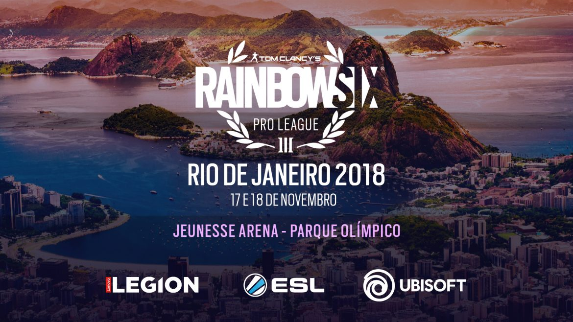 À venda ingressos para a final da Rainbow Six Pro League