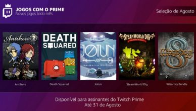 Free Games With Prime - agosto