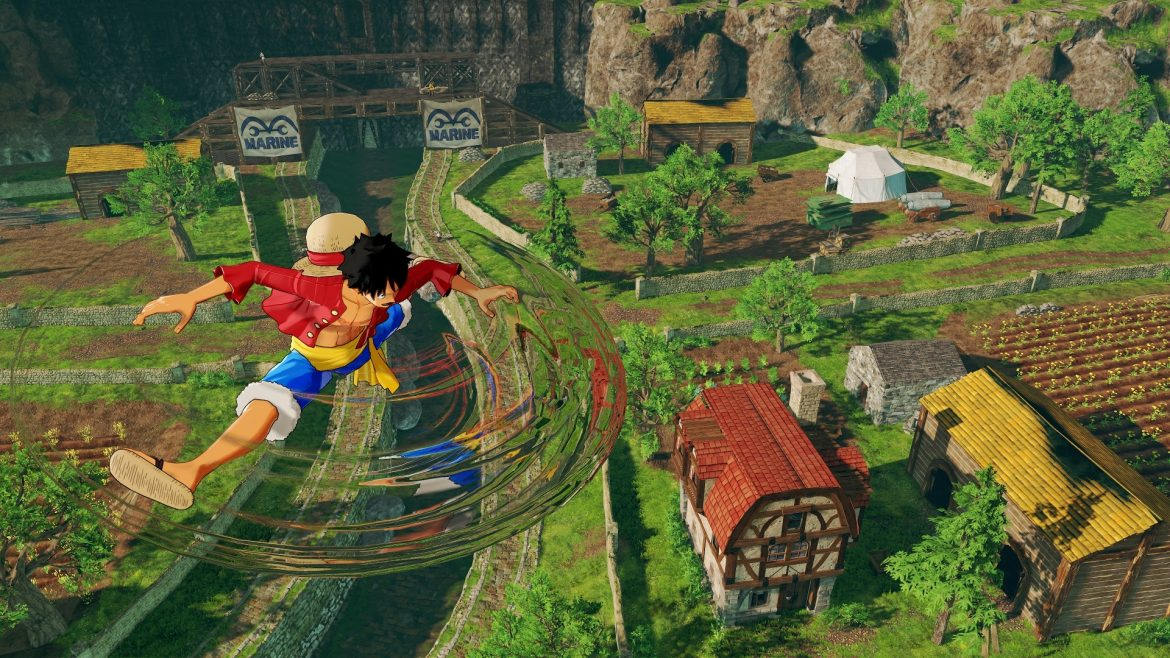 One Piece World Seeker ganha novo trailer