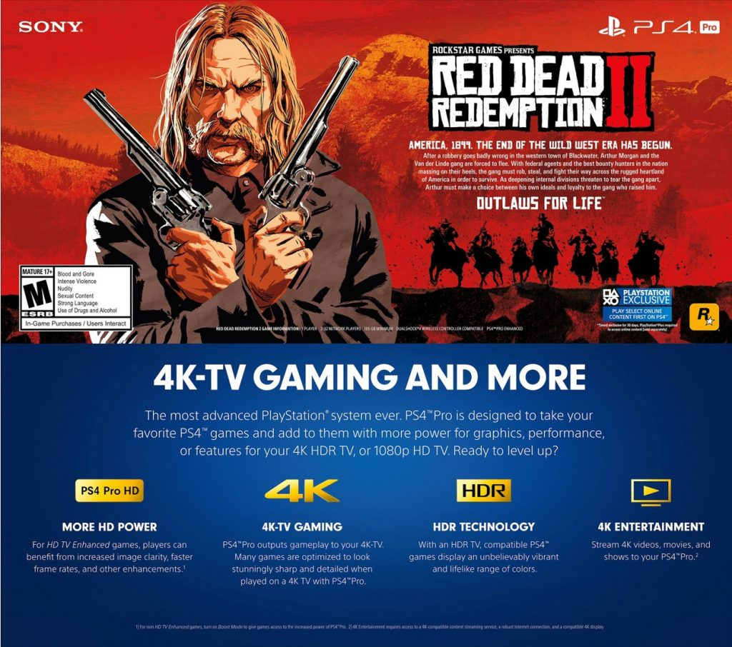 Red Dead Redemption 2 ocupara 105GB