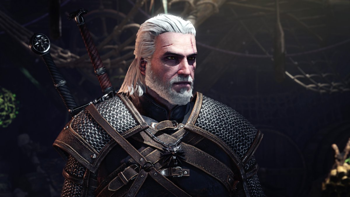 Monster Hunter World recebe Geralt, de The Witcher 3