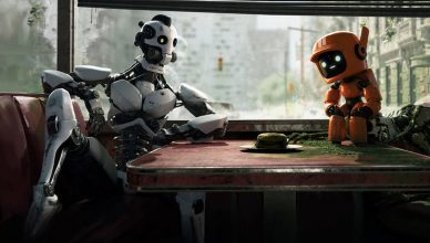 Three-Robots-Love-Death-and-Robots-Ending-Explained-Diner