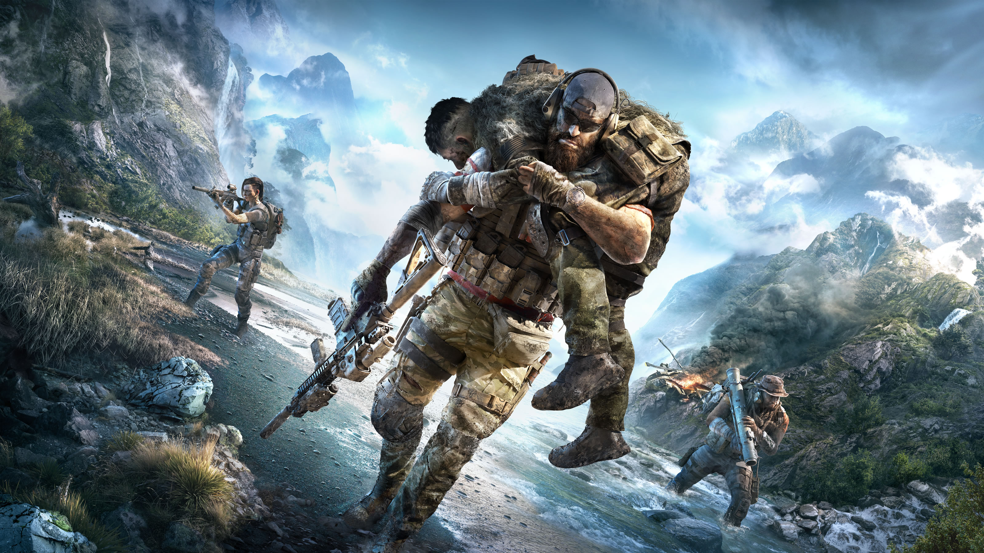Ubisoft revela Ghost Recon: Breakpoint