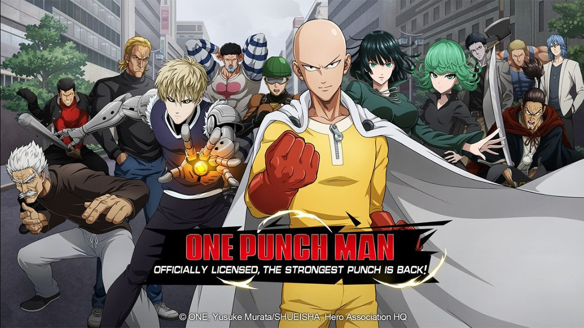 Saitama volta no jogo mobile One Punch Man – Road to Hero