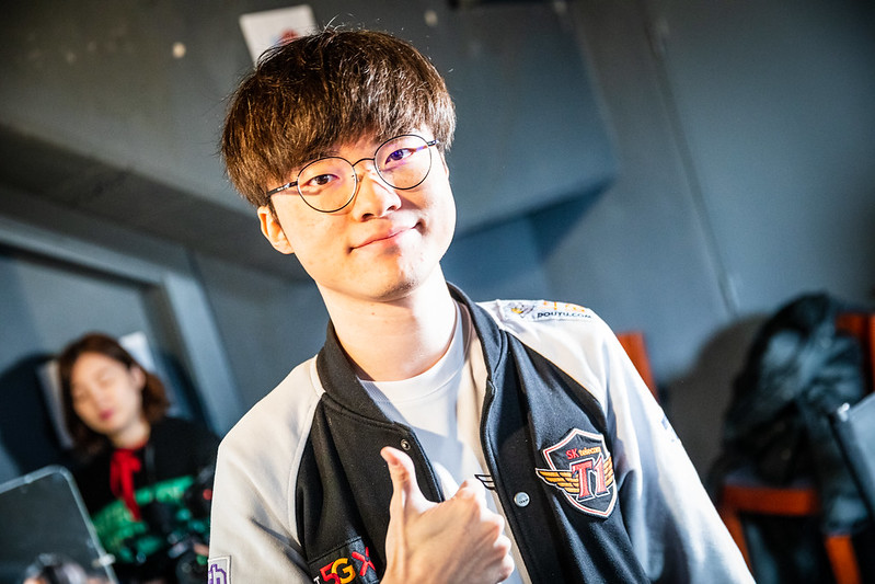 Madrid, Spain - October 27: --- during Worlds 2019 Quarterfinals at Palacio Vistalegre on October 26, 2019 in Madrid, Spain. (Photo by Colin Young-Wolfl/Riot Games)